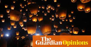 lantern kites what s the environmental impact of a sky lantern leo hickman