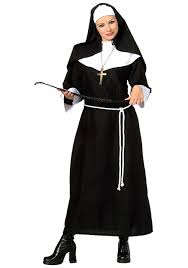 Halloween Shirt For Pregnant Women by Religion Costumes Nun Priest Halloween Costume