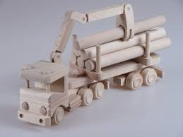 wooden truck toy handmade truck with crane toy design by afriartisan designs