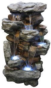 amazon com alpine win730 alpine u0027s rainforest waterfall fountain
