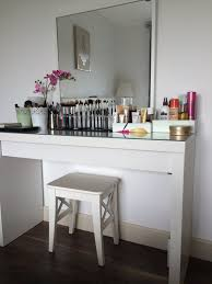 ikea makeup vanity hack ikea makeup desk pastel bedroom teen malm table black hack diy