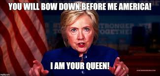 Bow Down Meme - you will bow down before me america i am your queen meme