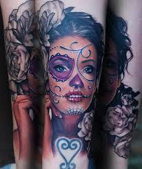dia de los muertos tatuajes pinterest sugar skull