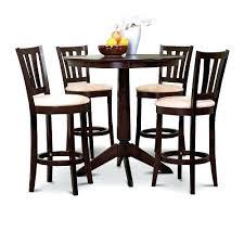 Kitchen Table Swivel Chairs by Round Kitchen Chair Cushions With Ties Round Kitchen Table With 5