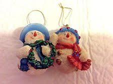 white ceramic ornaments ebay