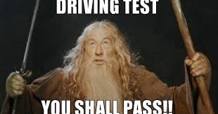 Driving Meme - 8 top tips to passing your driving test