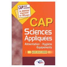 sciences appliqu s cap cuisine manuels scolaires hotellerie bep cap achat vente neuf d