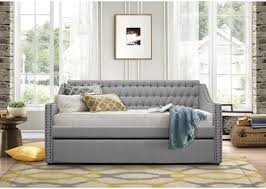 homelegance daybeds transitional tulney upholstered daybed with