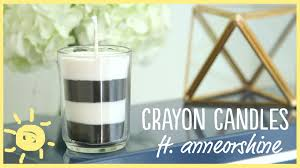 diy how to make your own candles with crayons ft