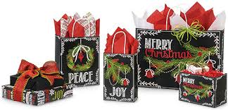 christmas wrap bags chalkboard wrapping paper bags boxes for fashioned