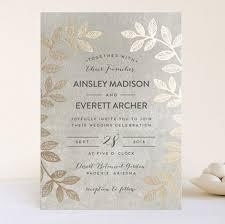 foil sted wedding invitations wedding invitation templates foil wedding invitations