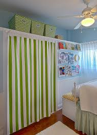 Curtain As Closet Door Tiny Oranges Fresh Fun Blog For Oc Moms Decorating Ideas For