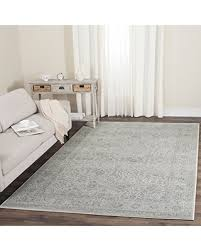 Light Gray Area Rug Deals On Safavieh Carnegie Collection Cng691g Vintage Light Grey