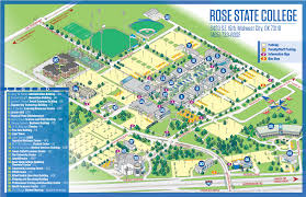Map Rose Campus Maps