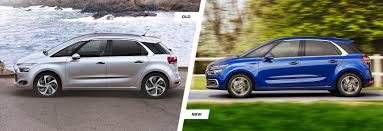citroen c4 picasso facelift old vs new carwow