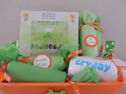 baby shower gift baskets neutral gender reveal party baby shower gift basket
