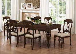 Coaster Dining Room Table Hamilton 5 Piece Dining Set In Antique Tobacco Finish By Coaster