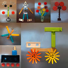 Recycled Crafts For Kids Gift Presents For Kids Magnetic Junk Pictures Crafts Ideas
