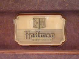 Hoffman Cabinet Hoffman Model 7m112 Tabletop Television 1952