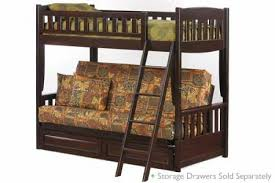 Best Futon Bunk Bed Wood Futon Bunk Bed Wood Loft Beds For Adults - Futon bunk bed with mattresses