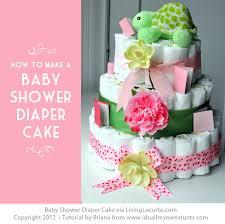 baby shower gift basket homemade baby shower diaper cake living