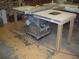 Wood Router Forum by Mobile Workbench Table Saw Outfeed Table Router Table Super Combo