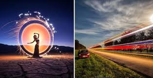 Light Painting Landscape Photography Taken At And Painted With Light 10 Hypnotising Images Of