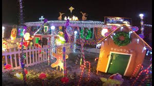 christmas lights in michigan extreme christmas lights warren michigan walkthrough youtube