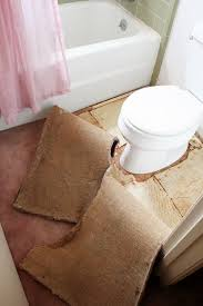 Cut To Fit Bathroom Rugs Why Not To Put Carpet In A Bathroom Southern Hospitality