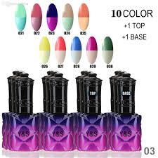 wholesale choose 10 mood color changing nail polish lacquer long