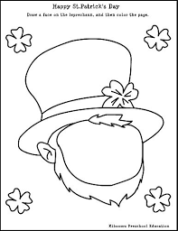 collections of free printable st patrick day worksheets easy
