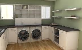 Ikea Laundry Room Storage Open Storage Options Work Well Ikea Organizers Such Algot Dma
