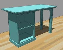 Desk Plans Diy I Want To Make This Diy Furniture Plan From White A