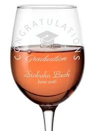 Graduation Wine Glasses Personalised Glasses