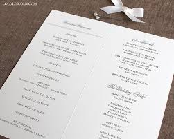 classic wedding programs preppy monogram wedding programs wedding invitations by lincoln