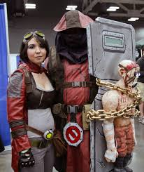 borderlands halloween costume me and chris at austin comic con made it on reddit geek