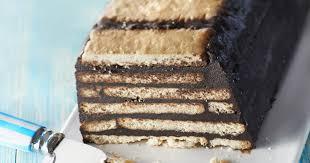 cuisine facile sans four recette gâteau au chocolat petits beurre chocolat sans cuisson 750g