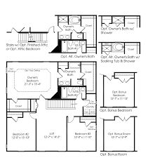 new homes floor plans featured floorplan the milan by ryan homes springbank of plainfield