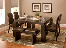 Raymour And Flanigan Cortland Place 7 Pc Dining Set Brown Raymour U0026 Flanigan