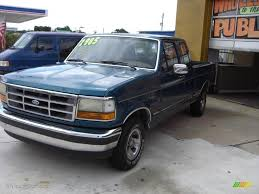 Ford F150 Truck Extended Cab - 1993 bimini blue metallic ford f150 xlt extended cab 18038038