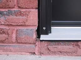 Replacing An Exterior Door Threshold Door Threshold Extension Exterior Door Aluminum Threshold
