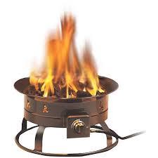 propane fire pit canada heininger 58 000 btu portable propane fire pit walmart com