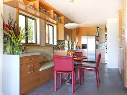 warm modern kitchen staining kitchen cabinets pictures ideas u0026 tips from hgtv hgtv