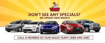 toyota used car eblast weekly used car specials island