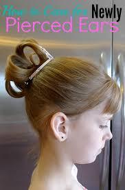 earrings for pierced ears to care for newly pierced ears