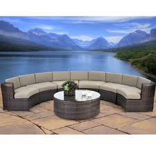 Patio Furniture Round Home Design Magnificent Round Sectional Outdoor Furniture