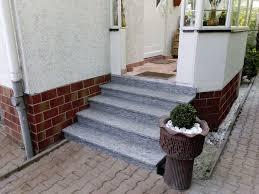 treppe auãÿen details about treppe aussen haus eingang podest naturstein granit