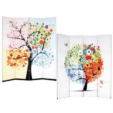 Canvas Room Divider Handmade Canvas Double Sided Van Gogh Paintings Room Divider