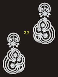 heavy diamond earrings diamond dangle earrings manufacturer manufacturer from mumbai