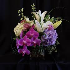 Square Vase Flower Arrangements Cosmopolitan In Danville Ca Cattails Florist